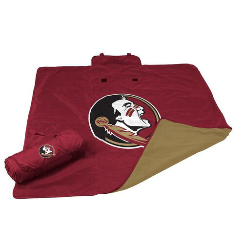 Our Florida State University Team Logo All Weather Blanket is on sale now.
