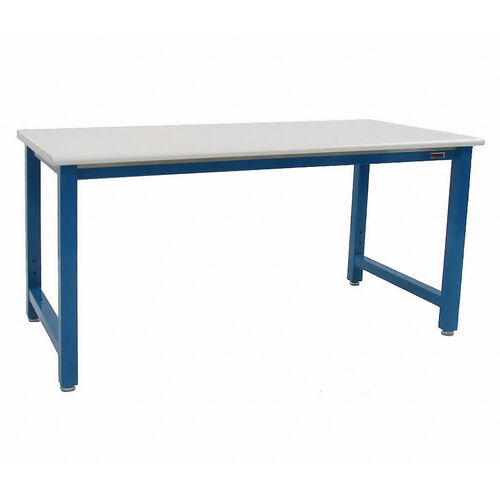 Our Premium 6,600 lb Capacity Laminate Top Workstation Production Bench - 30