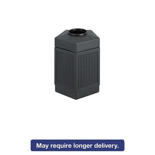 Our Safco® Canmeleon Indoor/Outdoor Receptacle - Pentagon - Polyethylene - 45gal - Black is on sale now.