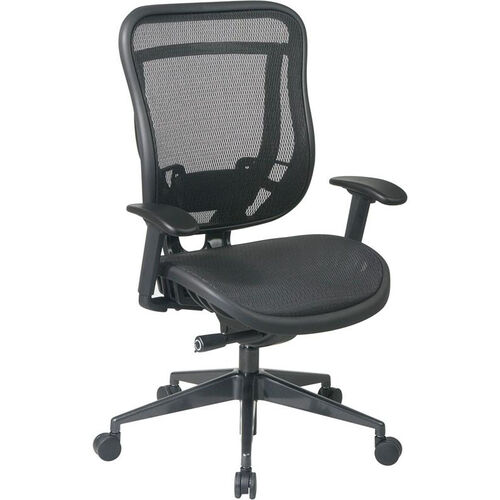 Our Space 818 Breathable Mesh Back and Seat Executive Office Chair with 2-to-1 Synchro Tilt - Black is on sale now.