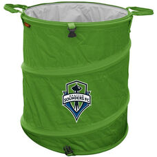 Seattle Sounders Team Logo Collapsible 3-in-1 Cooler Hamper Wastebasket