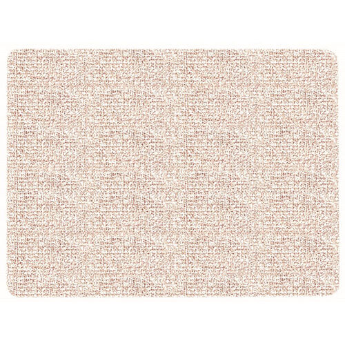 Our Frameless Burlap Weave Vinyl Display Panel with Radius Corners - Greige - 36
