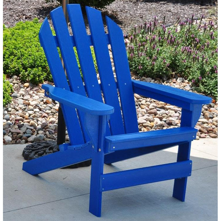 Superieur ... Our Cape Cod Recycled Plastic Adirondack Chair In Blue Is On Sale Now.