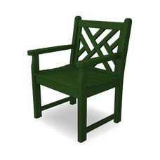 POLYWOOD® Chippendale Collection Arm Chair - Green