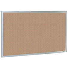 800 Series Type CO Aluminum Frame Tackboard - Nucork - 144
