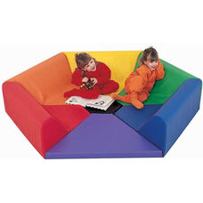 Multicolor Hexagon Happening Hollow 75