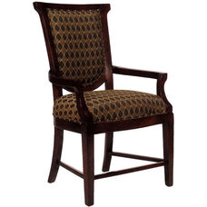 2520 Arm Chair w/ Upholstered Back & Seat - Grade 1