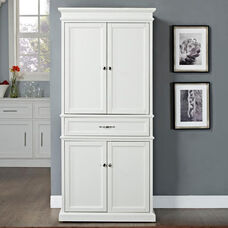 Parsons Wood Pantry - White