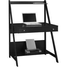 My Space Series Alamosa Desk - Classic Black