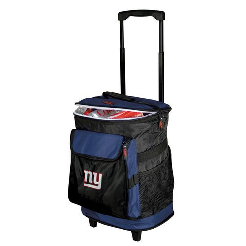 Our New York Giants Team Logo Rolling Cooler is on sale now.