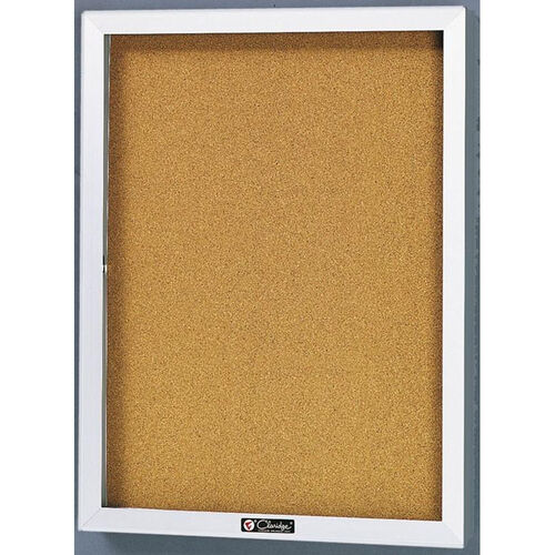 Our 2300 Series Directory Board Cabinet with Tempered Glass Locking Door - 24