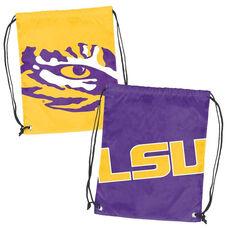Louisiana State University Team Logo Doubleheader Drawstring Backsack