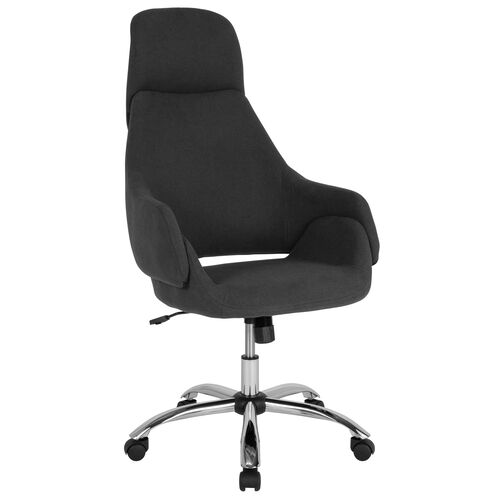 Our Marbella Home and Office Upholstered High Back Office Chair with Wrap Style Arms and Headrest is on sale now.