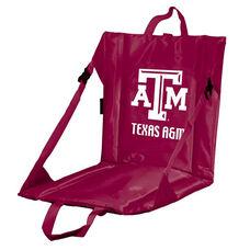 Texas A&M University Team Logo Bi-Fold Stadium Seat