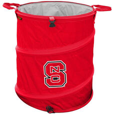 North Carolina State University Team Logo Collapsible 3-in-1 Cooler Hamper Wastebasket