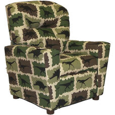 Kids Home Theatre Recliner with Cupholder