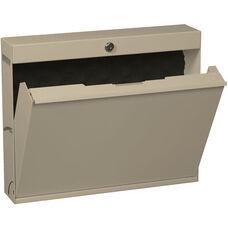 LapTop Locker with Keyed Lock - Bone White