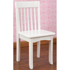 Avalon Classic Style Solid Wood Kids Chair - White