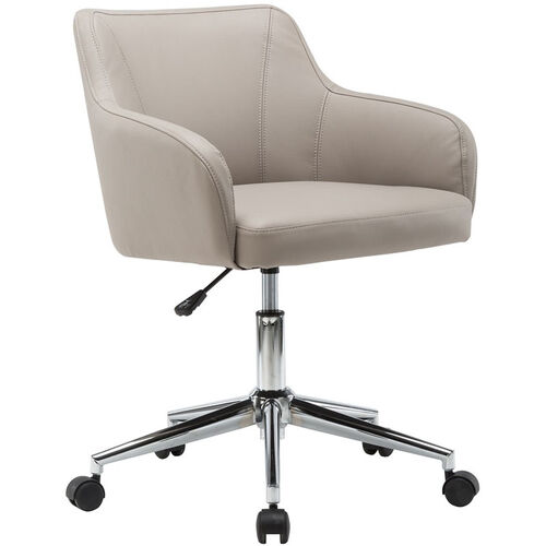 Techni Mobili Comfy and Classy Home Office Chair - Beige