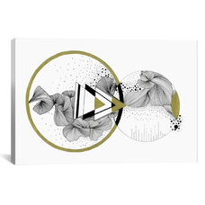 Revolution by Illustrating Rain Gallery Wrapped Canvas Artwork