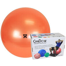 CanDo® Inflatable Orange Exercise Ball - 22