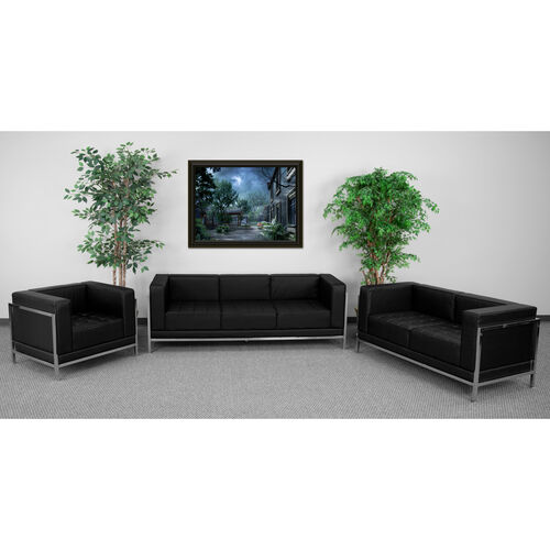Our HERCULES Imagination Series Black LeatherSoft 3 Piece Sofa Set is on sale now.