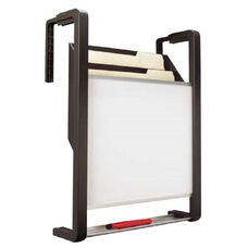 Quartet Magnetic Dry-Erase Panel withFile Pockets