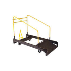 High Capacity Steel Round Table Truck with Steel Casters - 32