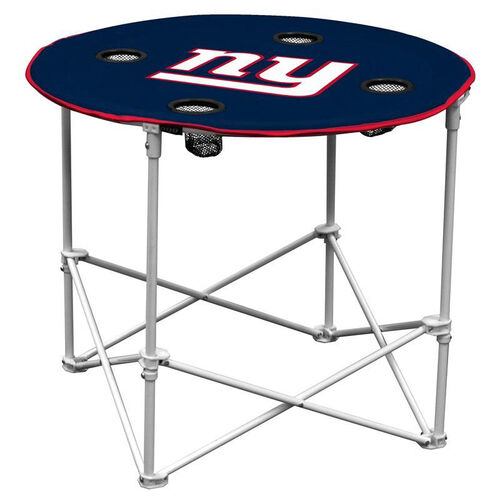 Our New York Giants Team Logo Round Folding Table is on sale now.