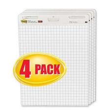 3M Easel Pad -Self -stick -Grid -30 Sheets -25