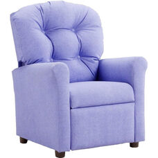 Kids Recliner with Button Tufted Back