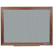 114 Series Wood Frame Tackboard - Claridge Cork - 96