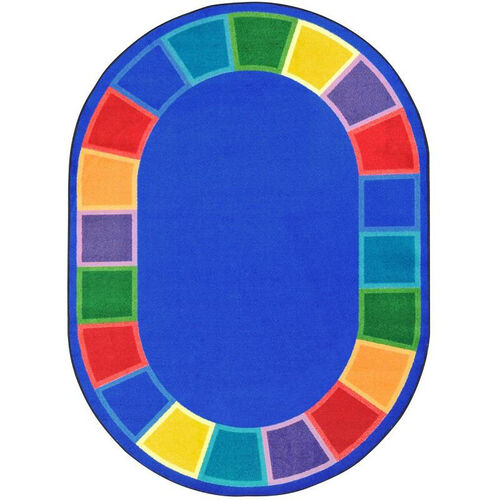 Kid Essentials Color Tones Nylon Rug with SoftFlex Backing - 92