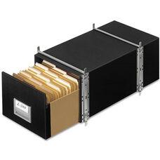 Bankers Box® STAXONSTEEL Storage Box Drawer - Legal - Steel Frame - Black - 6/Carton