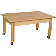 Mobile Rectangular Solid Birch Children