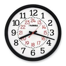 Lorell Military Wall Clock -14 -3/4