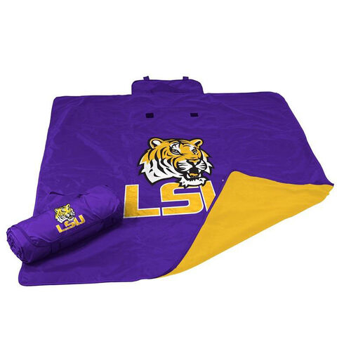 Louisiana State University Team Logo All Weather Blanket