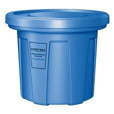 20 Gallon Cobra Food Grade/General Use Trash Can - Blue