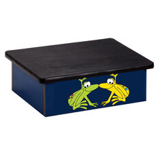Blue Rainforest Frog Pediatric Step Stool