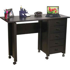 Folding Mobile Desk & Craft Center