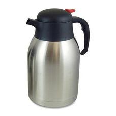 Genuine Joe Everyday Vacuum Carafe - 2.0L. - Stainless Steel