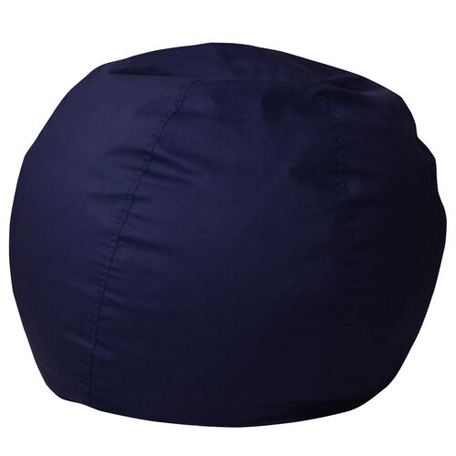Our Small Solid Navy Blue Bean Bag Chair for Kids and Teens is on sale now.