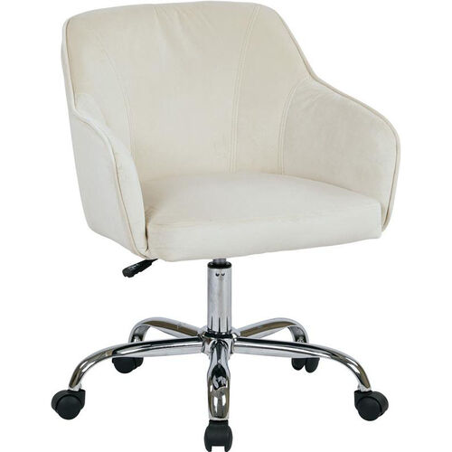 Our Ave Six Bristol Fabric Task Chair - Oyster Velvet is on sale now.