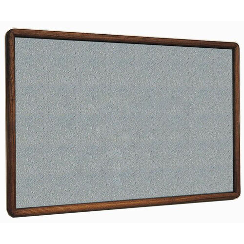 Our 2600 Series Tackboard with Bullnose Wood Face Frame - Claridge Cork - 48