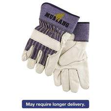 Memphis™ Mustang Leather Palm Gloves - Blue/Cream - Extra Large - Dozen