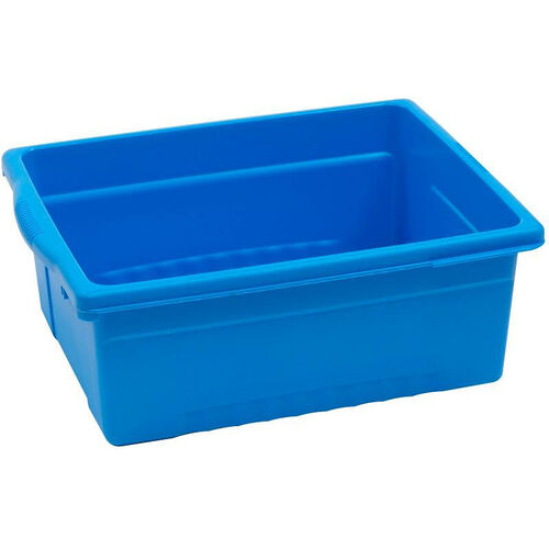 Our Royal Large Open Environmentally Friendly Tough Plastic Tub - Blue - 15.63