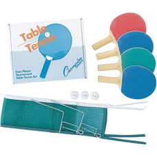 Four-Player Table Tennis Set