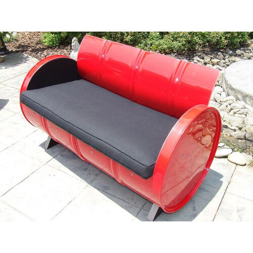 Our Red Loft Steel Drum Loveseat with Black Accents is on sale now.
