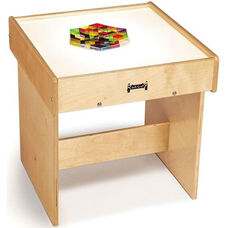 Wooden LED Light Box Table with Acrylic Top - 20.2