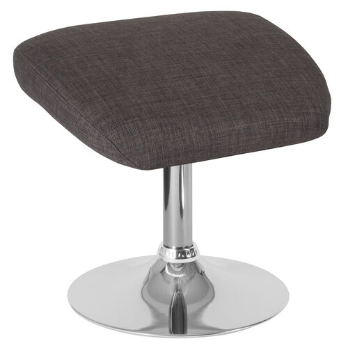 Our Egg Series Dark Gray Fabric Ottoman is on sale now.
